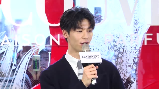 actor greg hsu kuanghan attends the opening ceremony of a popup store on february 14 2020 in taipei taiwan of china - commercial event stock videos & royalty-free footage