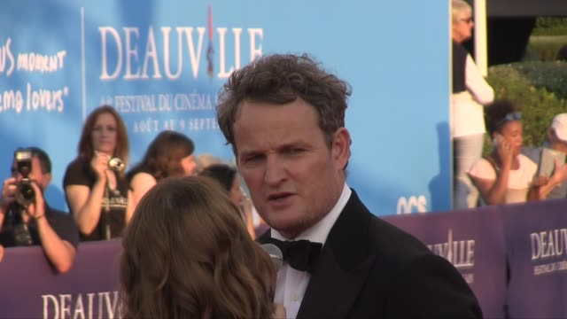 Actor Jason Clarke present on the red carpet of the opening ceremony of the 2018 Deauville film festival to receive an all achievement award for his...