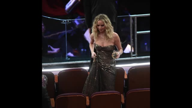 actor jennifer lawrence in the audience during the 90th annual academy awards at the dolby theatre at hollywood highland center on march 4 2018 in... - oscars stock videos & royalty-free footage