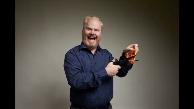 Actor Jim Gaffigan from the film You Can Choose Your Family poses for a portrait in the Getty Images Portrait Studio Powered by Pizza Hut at the 2018...