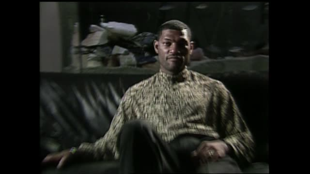 Actor Laurence Fishburne interview talks about his roll in the film 'Boyz N The Hood'