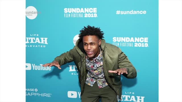 actor omar brunson attends the 'luce' premiere during the 2019 sundance film festival at library center theater on january 27 2019 in park city utah - luce stock videos & royalty-free footage