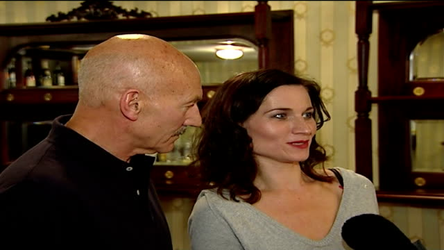 actor patrick stewart to appear as 'macbeth' in london; kate fleetwood interview sot - on shakespeare - macbeth fictional character stock videos & royalty-free footage