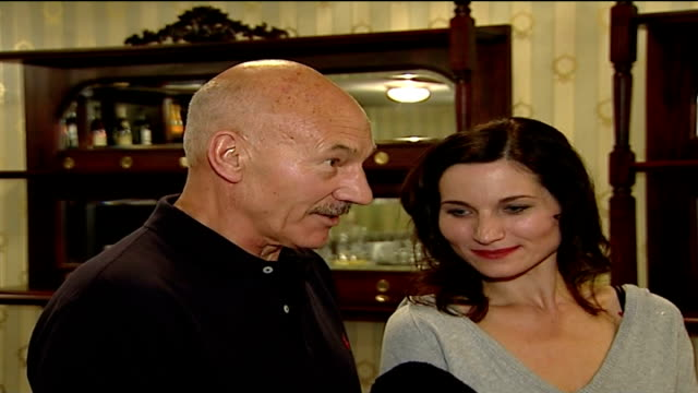 actor patrick stewart to appear as 'macbeth' in london; patrick stewart interview sot - on his early career as a journalist on a local weekly... - macbeth fictional character stock videos & royalty-free footage