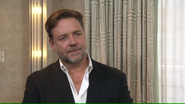 Actor Russell Crowe discussing the difficulty of working on his new film 'Noah' Quote it was quite easily the most difficult job i have ever done and...