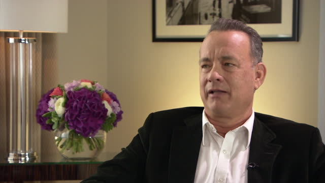 Actor Tom Hanks comparing the current American political climate to a circus