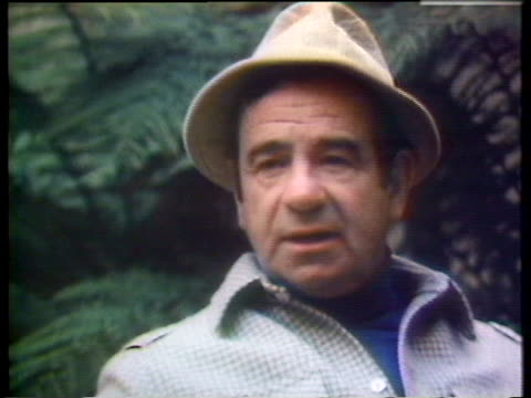 actor walter matthau explains how pleasurable it is to watch football since he does not gamble anymore. - music or celebrities or fashion or film industry or film premiere or youth culture or novelty item or vacations stock videos & royalty-free footage