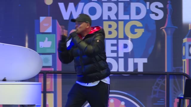 actor will smith speaks onstage during the worlds big sleep out event in times square on december 7, 2019 in new york. - sleeping stock videos & royalty-free footage