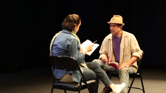 actors in theater rehearsing - theater industry stock videos and b-roll footage