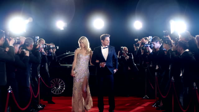 actors on red carpet - red carpet event stock videos & royalty-free footage