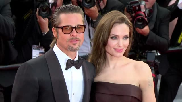 actress angelina jolie files for divorce from actor husband brad pitt according to the celebrity online news site tmz - brad pitt actor stock videos & royalty-free footage