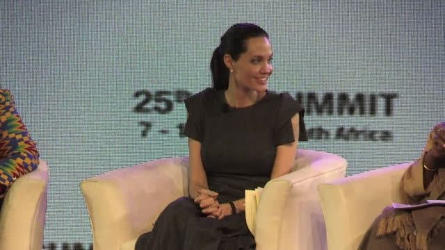 Actress Angelina Jolie on Friday appealed to African leaders attending a summit in Johannesburg to confront the near total impunity that hampers...