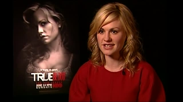 Actress Anna Paquin talking about her parents and being cast as Sookie Stackhouse in True Blood