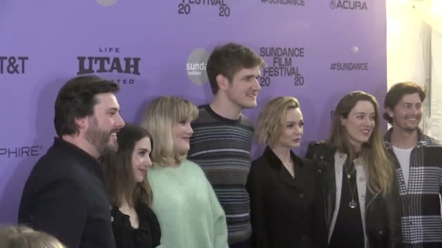 actress carey mulligan and director emerald fennell discuss their film promising young woman at the sundance film festival - utah stock videos & royalty-free footage