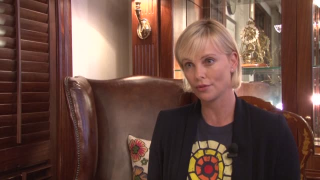 Actress Charlize Theron is in South Africa to attend the AIDS 2016 Conference in Durban