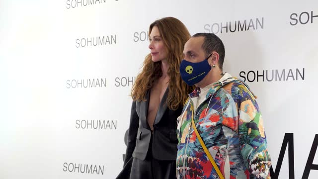 ESP: Sohuman Presents 'Relieve' - Photocall - London Fashion Week