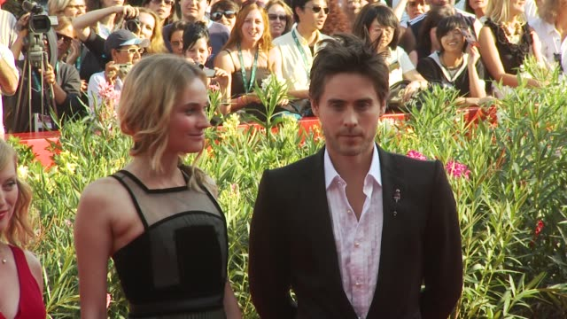 Actress Diane Kruger Actor Jared Leto at the Mr Nobody Premiere Venice Film Festival 2009 at Venice