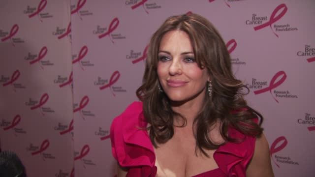 Actress Elizabeth Hurley is happy to be hosting the event has been involved since the beginning Talks about how it is a big night for the BCRF to...