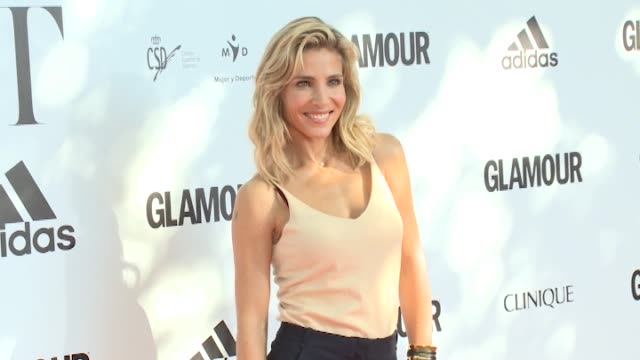 Actress Elsa Pataky attends the 'Glamour Sport Summit' photocall at Residencia de Estudiantes