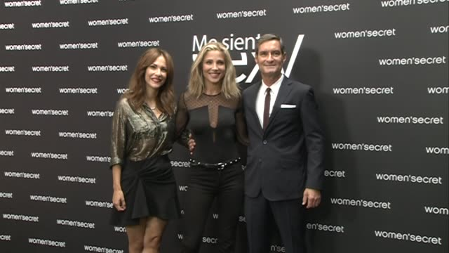 Actress Elsa Pataky is presented as the singer of the Women'Secret Videoclip