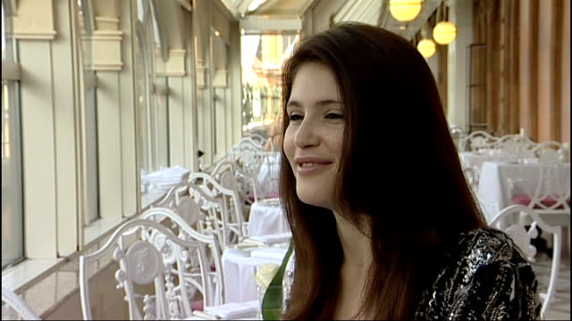 Actress Gemma Arterton attends launch of Harrods summer sale Gemma Arterton interview SOT I'm jealous because I want to be in it again / But I died...