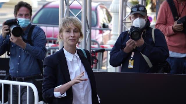 ESP: Ingrid García-Jonsson arrives at San Sebastian Film Festival
