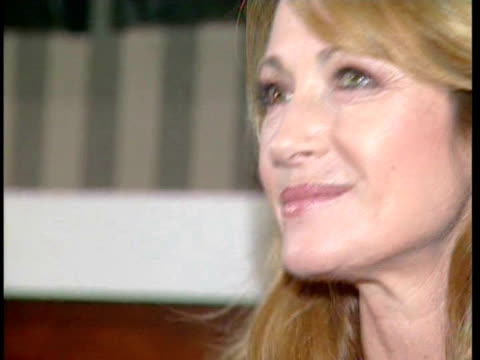 Actress Jane Seymour attend a conference on rheumatic illness Barcelona Spain