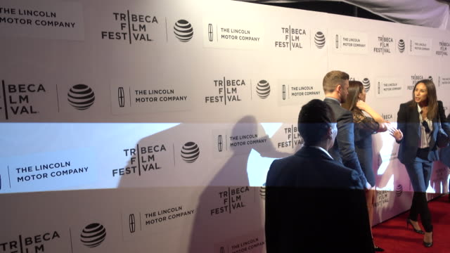 actress jessica biel and singer justin timberlake attend 'the devil and the deep blue sea' world premiere during the 2016 tribeca film festival at... - performing arts center stock videos & royalty-free footage