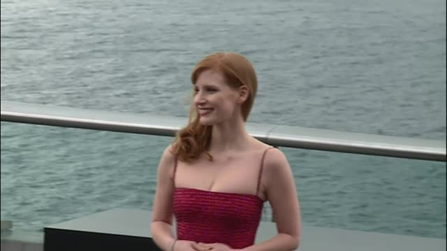 Actress Jessica Chastain attends the photocall of her new movie 'The Dissapearance of Eleanor Rigby' at the Aquarium during the 62nd San Sebastian...