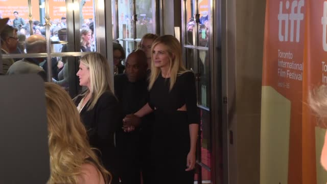 US actress Julia Roberts attends the premiere of Ben Is Back during the Toronto International Film Festival