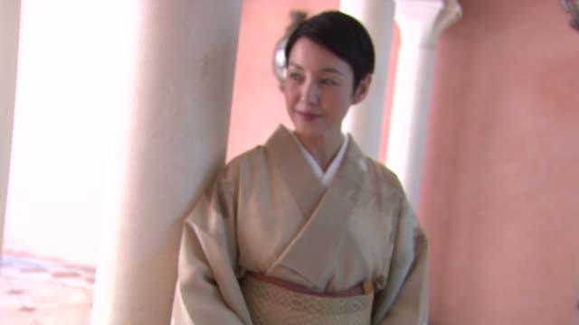 Actress Kanako Higuchi at the 65th Venice Film Festival Takeshi Kitano Arrival at Venice