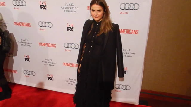 Actress Keri Russell attends 'The Americans' Season 4 premiere at NYU Skirball Center on March 5 2016 in New York City