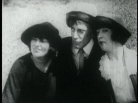 Actress Mabel Normand swimming