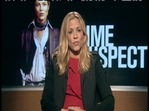 actress maria bello sot about her new nbc show prime suspect sot i knew from when i first read it it was going to be unique. alexander cunningham is... - maria bello stock videos & royalty-free footage