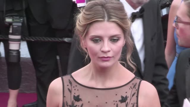 Actress Mischa Barton on the red carpet for the Premiere of Loving at the Cannes Film Festival 2016 Monday 16th May 2016 Cannes France