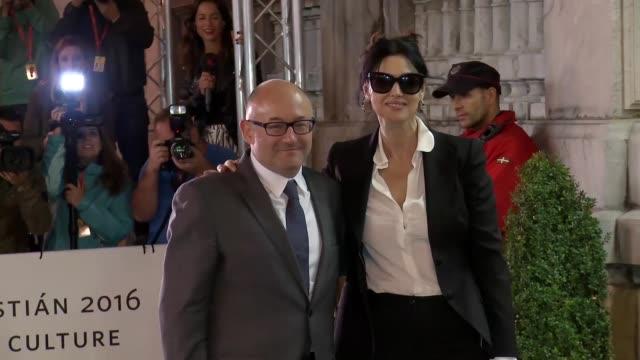 Actress Monica Bellucci is seen arriving during 64th San Sebastian Film Festival at Maria Cristina Hotel on September 18 2016 in San Sebastian Spain