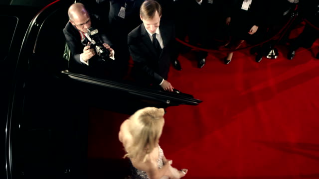 actress on red carpet - fame stock videos & royalty-free footage