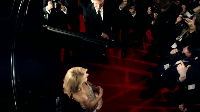 actress on red carpet - international cannes film festival stock videos & royalty-free footage