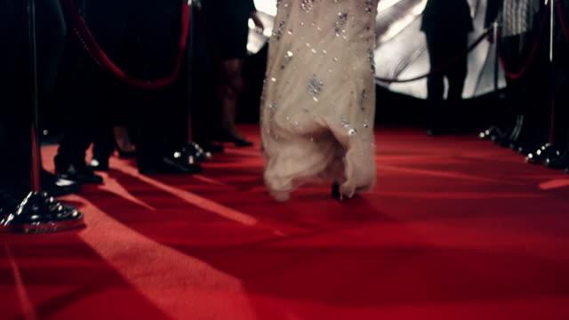 Actress on red carpet