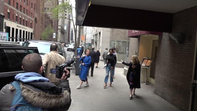 Actress Priyanka Chopra is seen in Midtown on April 19 2017 in New York City