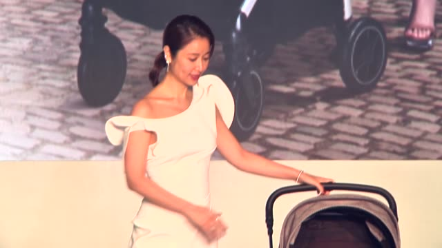actress ruby lin attends nuna new products launching event on september 3 2020 in taipei taiwan of china - commercial event stock videos & royalty-free footage