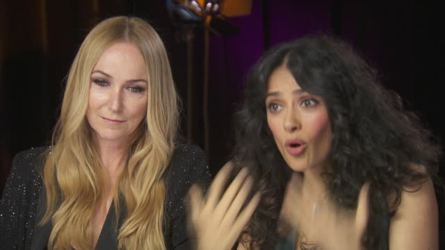 actress salma hayek says that the chime for change event, which benefits women's rights around the world, gives a voice to women who are otherwise... - savannah guthrie stock videos & royalty-free footage