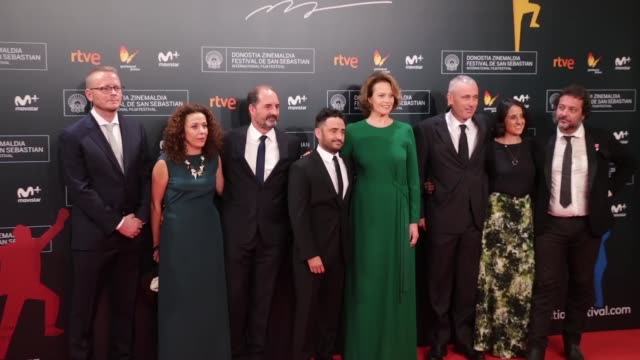 actress sigourney weaver attends 'a monster calls' premiere during the 64th san sebastian international film festival at the kursaal palace on... - juan antonio bayona stock videos and b-roll footage