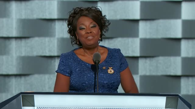 Actress Star Jones discusses Hillary Clinton's nomination at the convention telling delegates that she has known Clinton for over 20 years that...