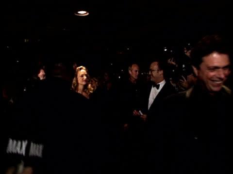 Actress Uma Thurman walks up the red carpet