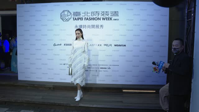 TWN: Taipei Fashion Week AW21 - Taipei Sustainable Collections - Photocall