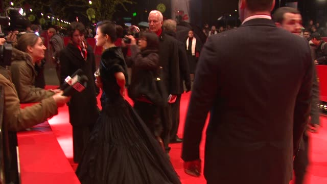 Actress Zhang Ziyi at the 59th Berlin Film Festival Forever Enthralled Premiere at Berlin