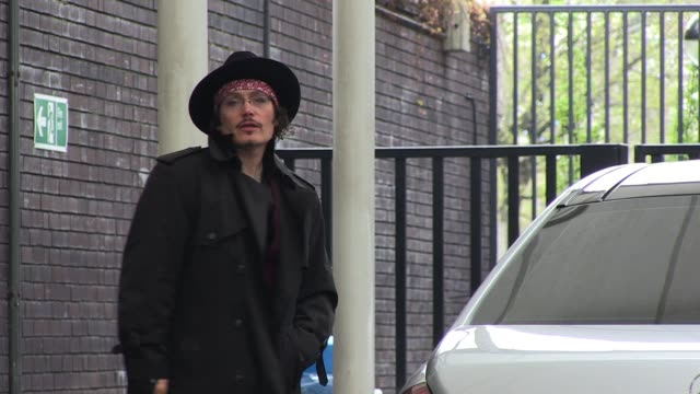 Adam Ant arrives at ITV Studios on the Southbank SIGHTED Adam Ant on April 15 2011 in London England