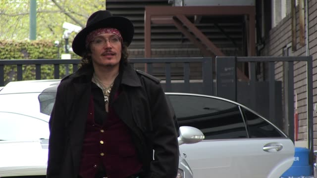 Adam Ant leaves ITV Studios on the Southbank SIGHTED Adam Ant on April 15 2011 in London England