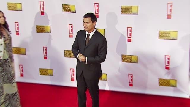 Adam Beach at the Broadcast Film Critics Association's 2007 Critic's Choice Awards at Santa Monica Civic Auditorium in Santa Monica California on...